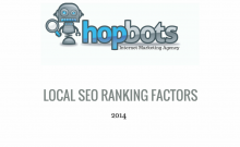 Local SEO Rankings factors